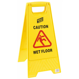 Wet Floor Caution Sign Yellow
