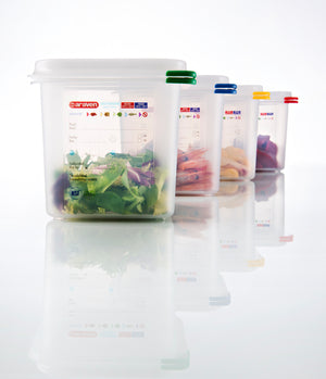 Araven 1/6 Airtight Gastronorm Container with Lid Polypropylene