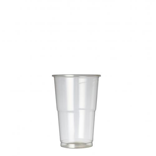 Disposable Tumbler 20oz lined at 17.75oz