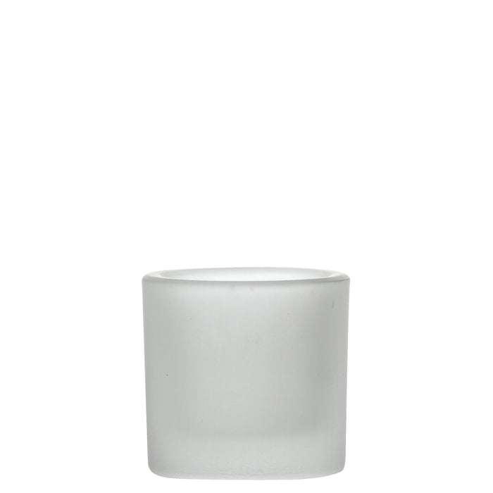 Artis White Satin Votive Tealight Holder