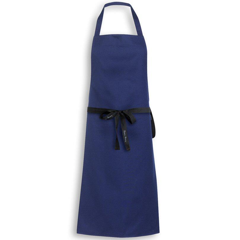 Oliver Harvey Navy Bib Apron