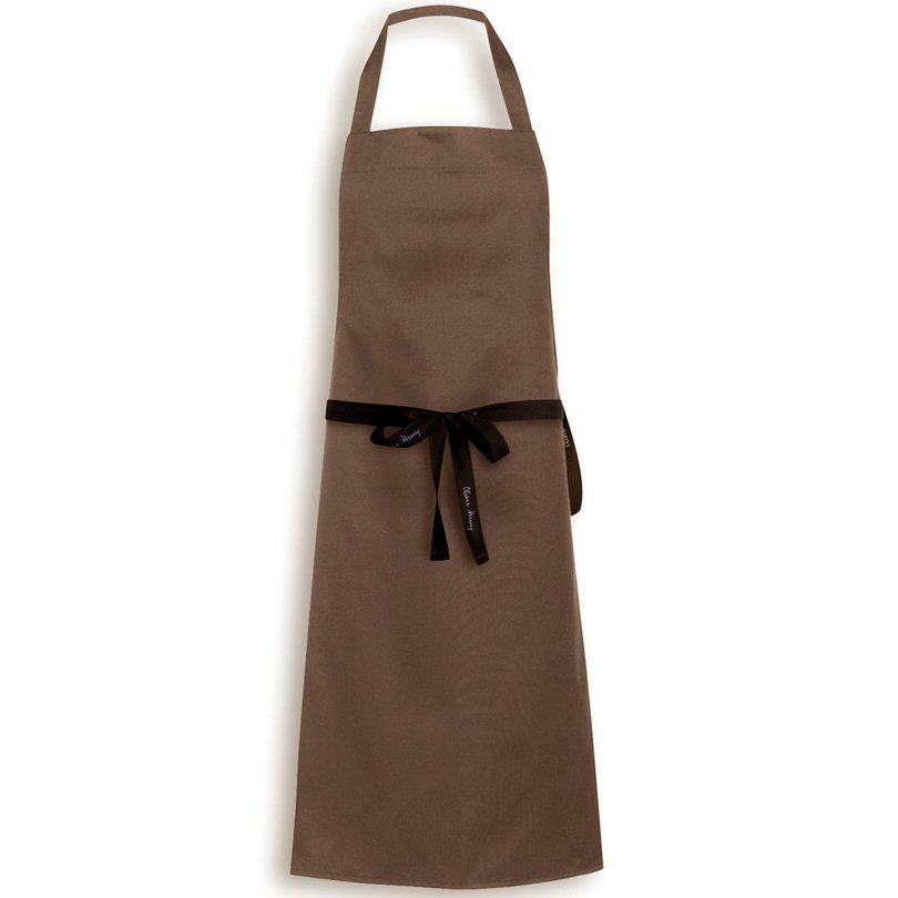 Oliver Harvey Brown Bib Apron