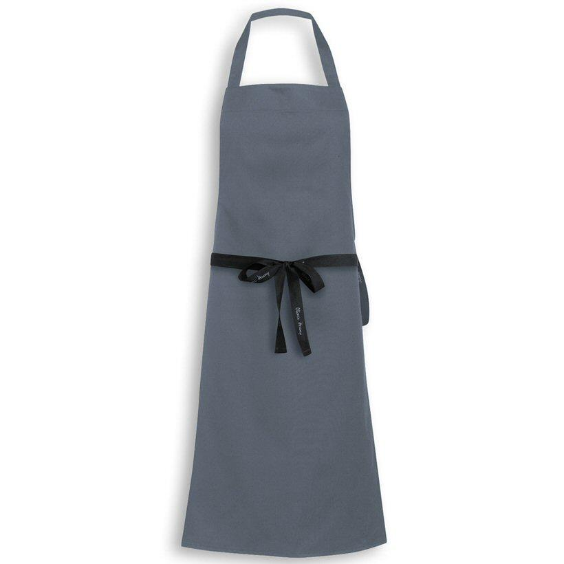 Oliver Harvey Grey Bib Apron