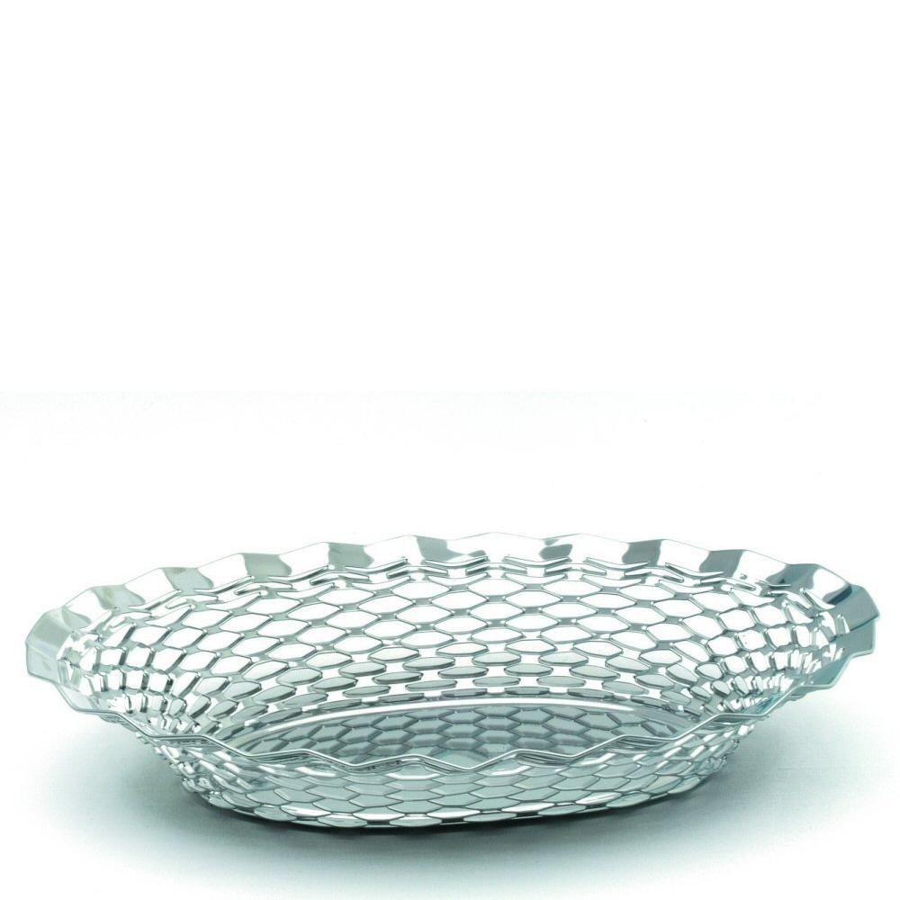 Stainless Steel Oval Basket