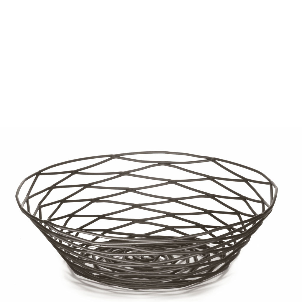 Black Round Birds nest basket