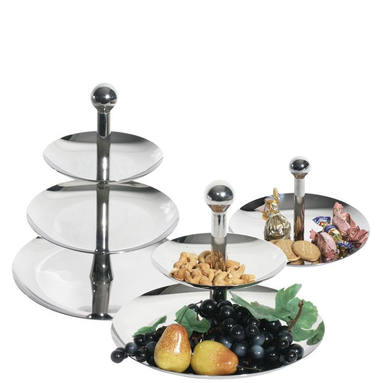 Three Tier Fruit Stand Stainless Steel