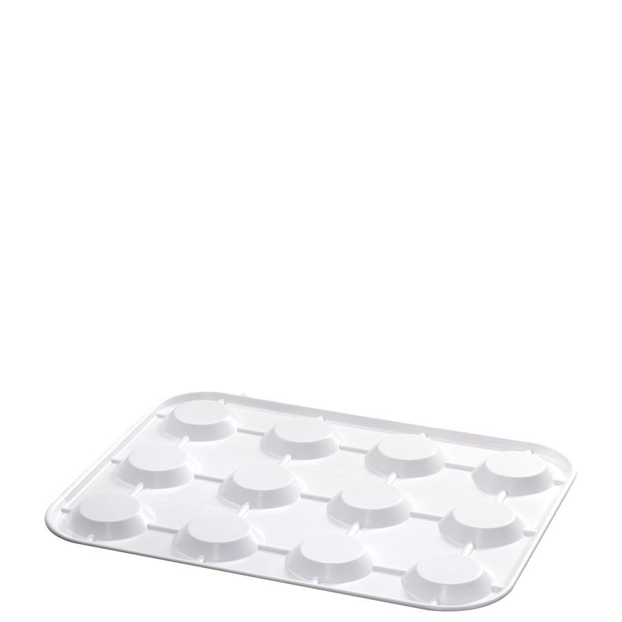 White Cup Stacking Tray