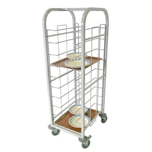 Single Tray Clearing Trolley Mild Steel