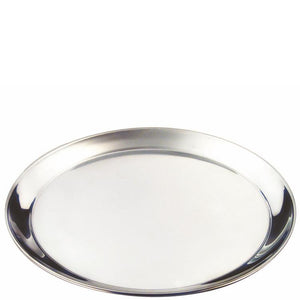 Stainless Steel Round Serving Tray