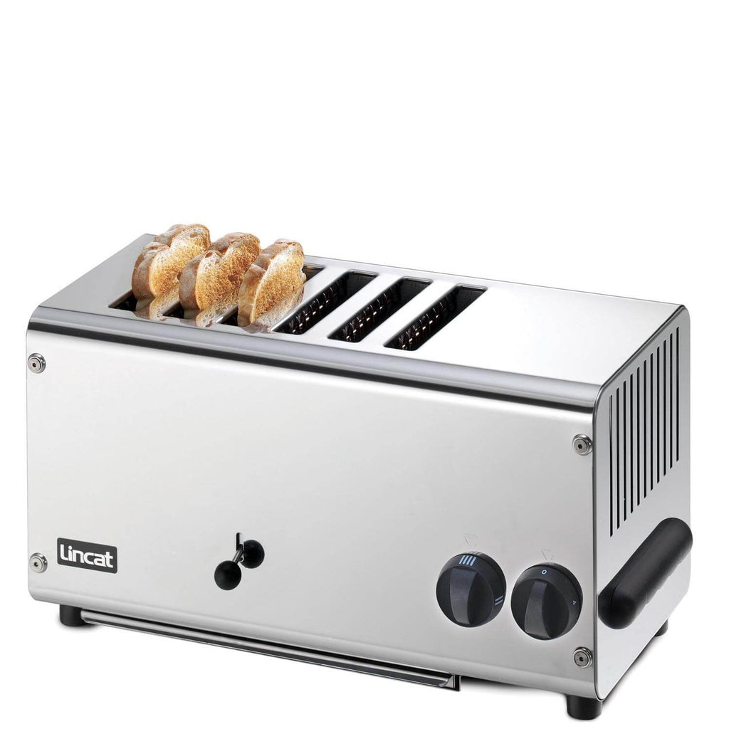 Lincat 6 Slot Stainless Steel Extra Deep Toaster