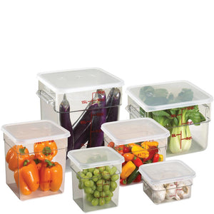 Cambro CamSquare Food Containers Polycarbonate