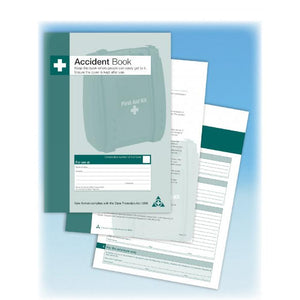 First Aid Accident Log Book