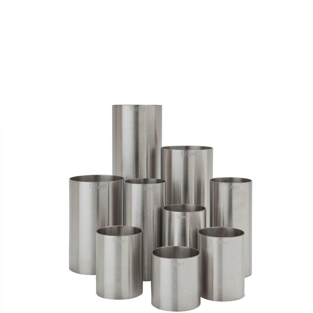 Thimble Wine Measures Stainless Steel