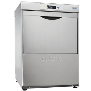 Classeq G500 Duo WS Glasswasher with Water Softener, Drain & Rinse Pumps
