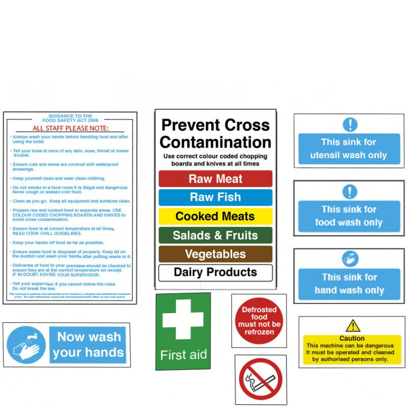 Junior Catering Hygiene Sign Pack