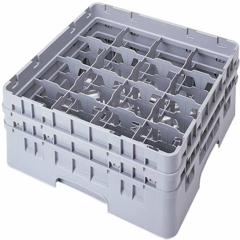 Cambro 16 Compartment Glass Rack