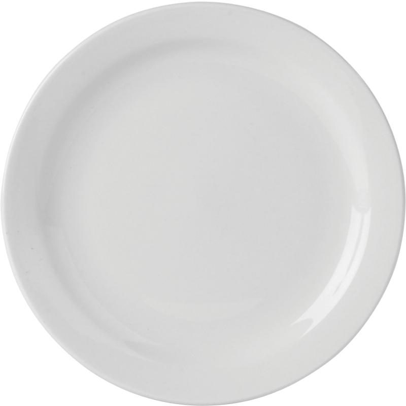 Simply Narrow Rim Plates
