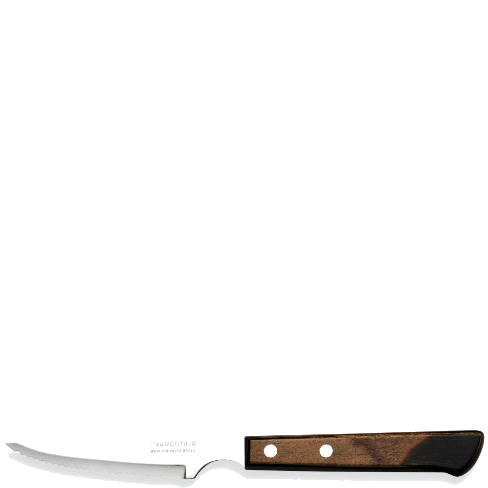 "Artis 4"" 2 Stud Italia Black Steak Knife"