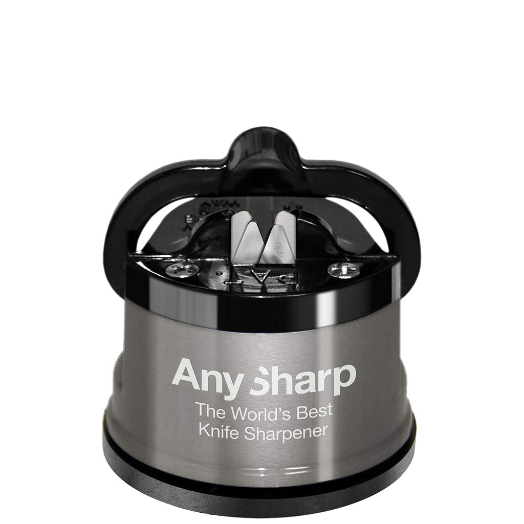 AnySharp Pro Knife Sharpener in Silver