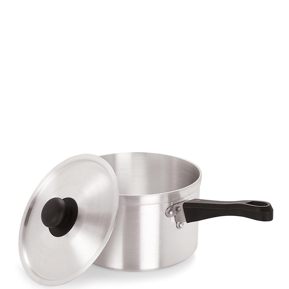 Medium Duty Aluminium Saucepan with Lid
