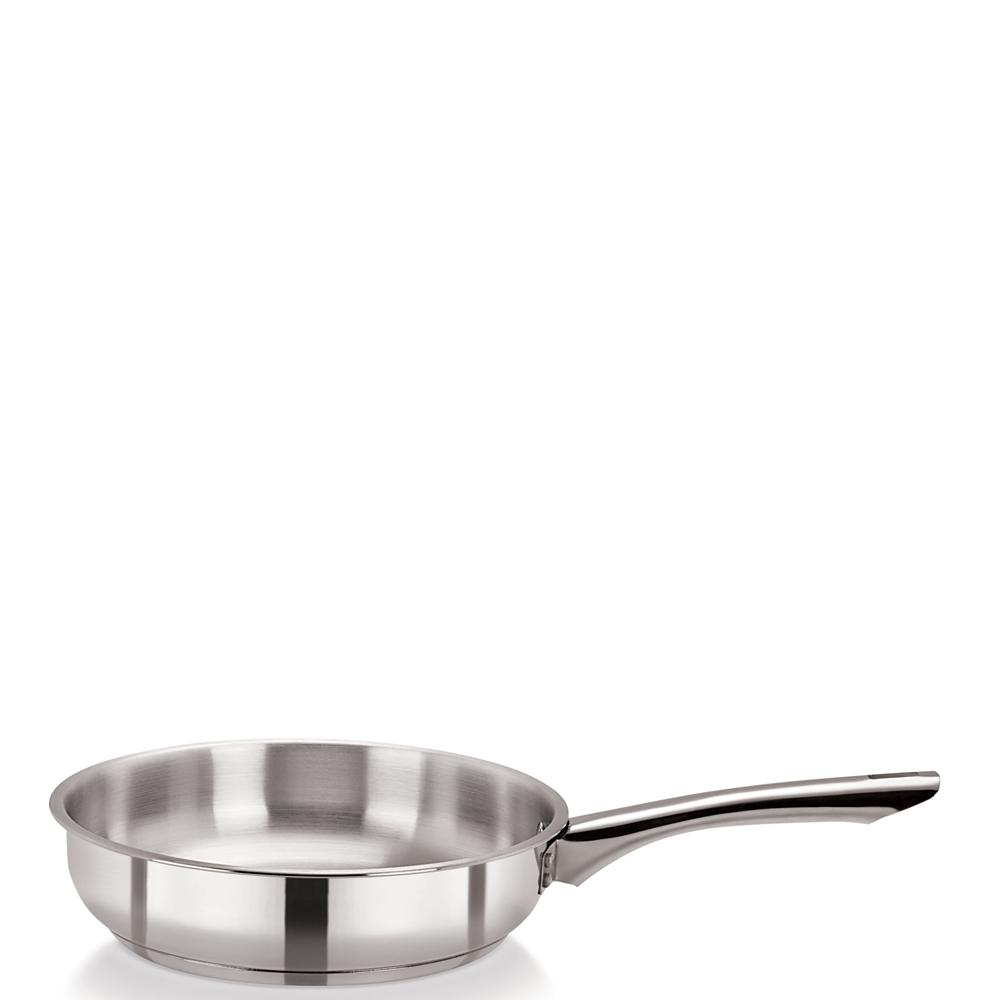 Medium Duty Classic Stainless Steel Frying Pan