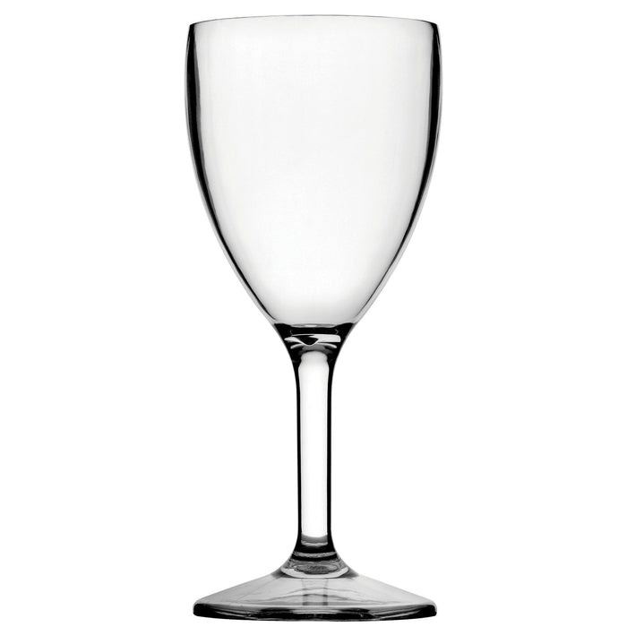 Diamond Wine Glass 9oz Polycarbonate LCE @ 175ml