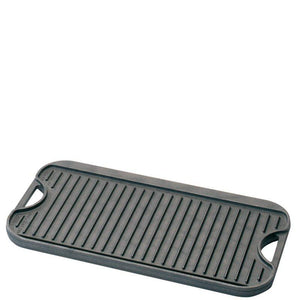 Black Cast Iron Pro Reversible Griddle