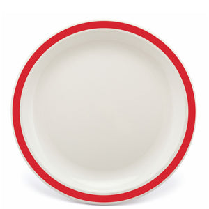 Polycarbonate Red Duo Plate
