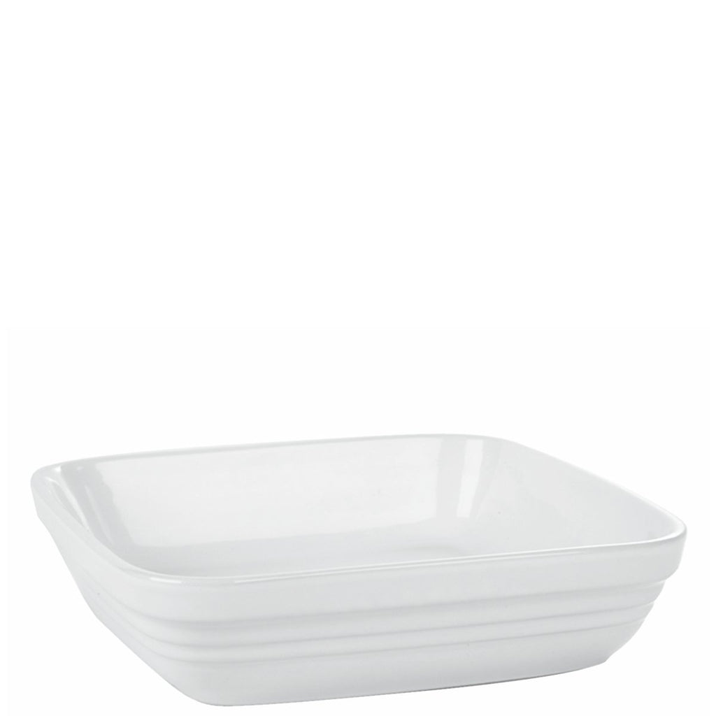 White Square Baking Dish 23cm