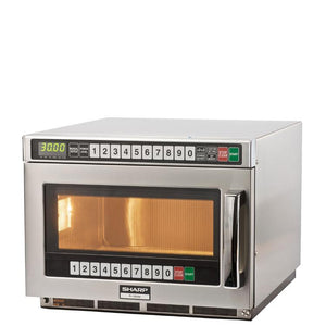 Sharp 1900W Touch Microwave Oven R1900M