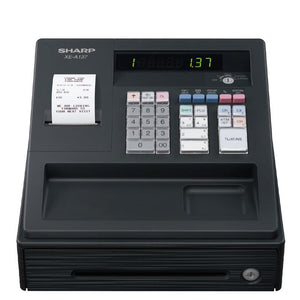 Sharp Cash Register - 8 Department XE-A137-BK