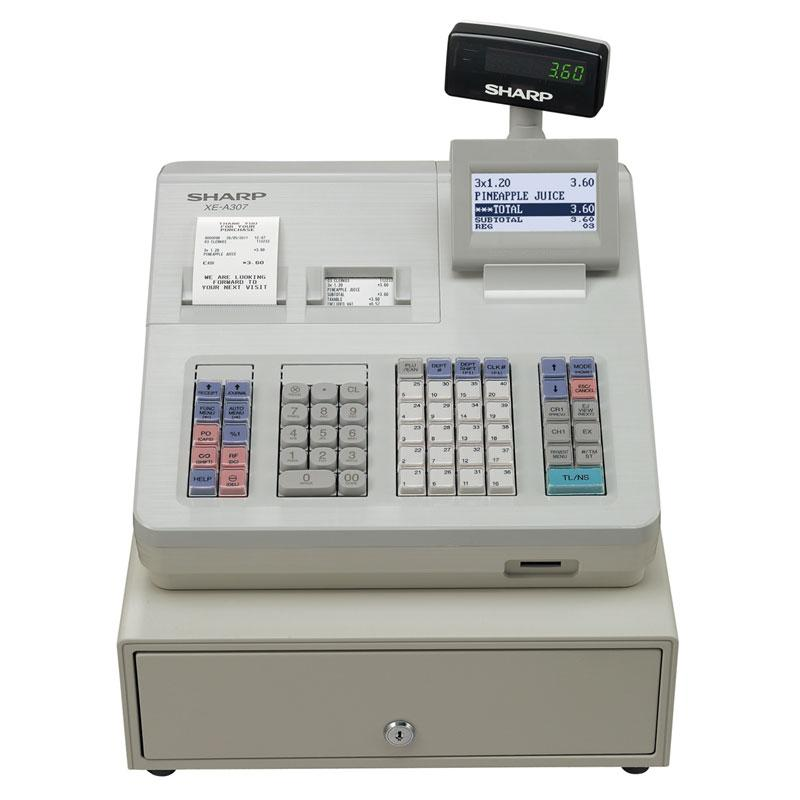 Sharp Cash Register - 99 Department XE-A307