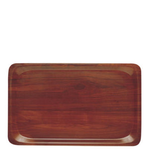 Cambro Capri Laminated Tray Walnut