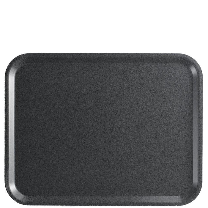 Cambro Capri Laminated Tray Charcoal Granite
