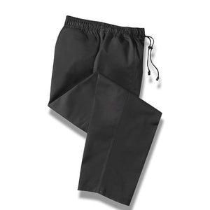 Bidfood Black Chefs Trousers - Pack of 3