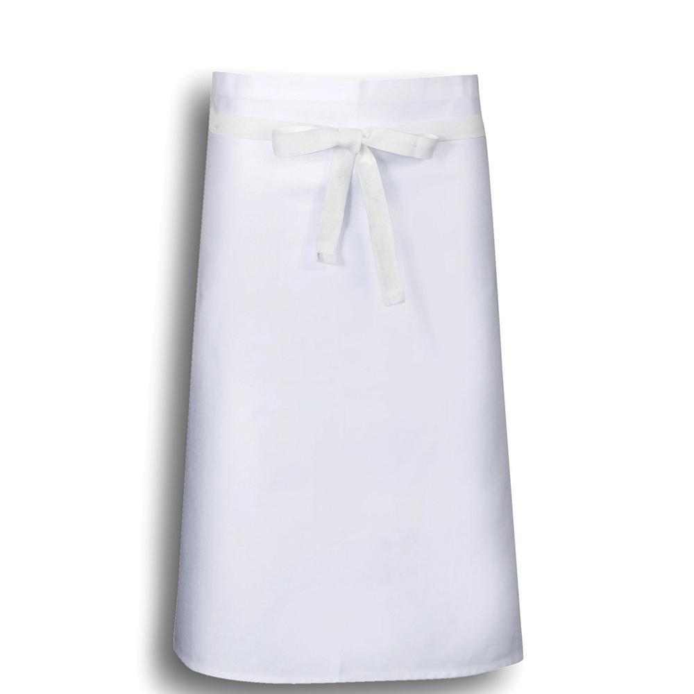 Bidfood White Waist Apron - Pack of 5