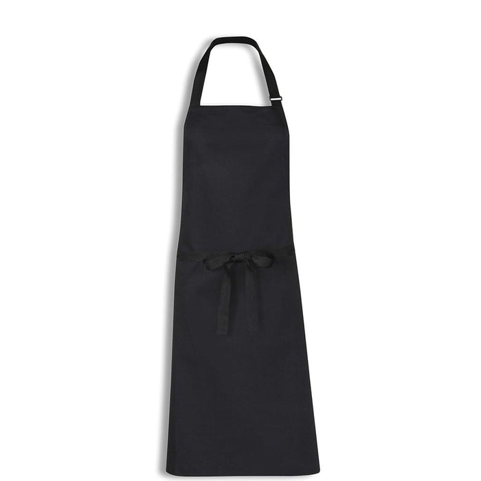 Bidfood Black Bib Apron - Pack of 5