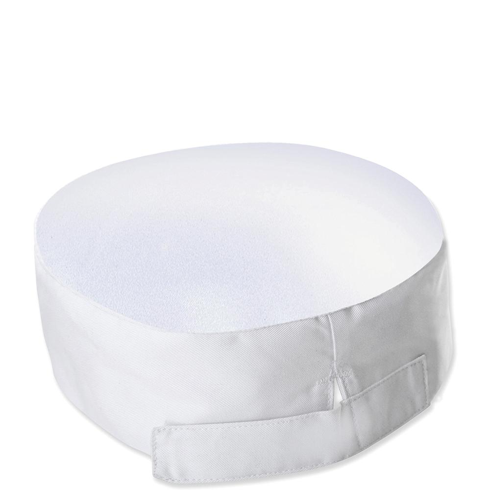 Bidfood White Skull Cap - Pack of 5