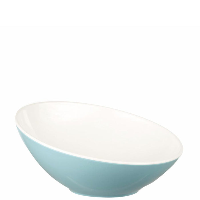 Churchill Buffet Turquoise Melamine Tilt Bowl