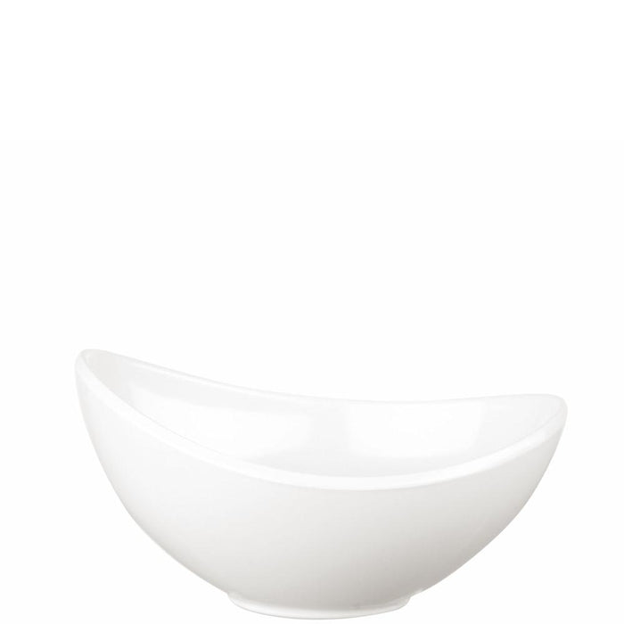 Churchill Buffet White Melamine Moonstone Bowl