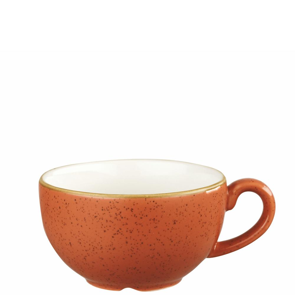 Churchill Stonecast Spiced Orange Cappuccino Cup
