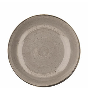 Churchill Stonecast Peppercorn Grey Coupe Bowl