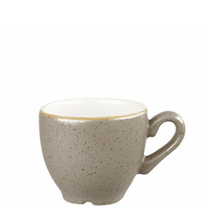 Churchill Stonecast Peppercorn Grey Espresso Cup