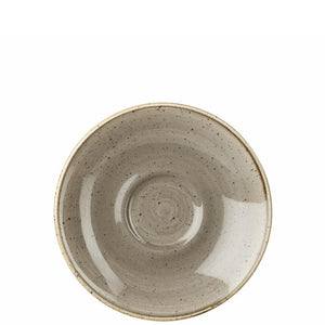 Churchill Stonecast Peppercorn Grey Espresso Saucer