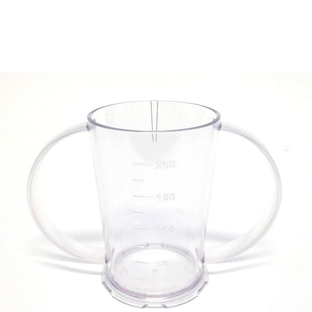 Polycarbonate Two Handled Beaker 25cl