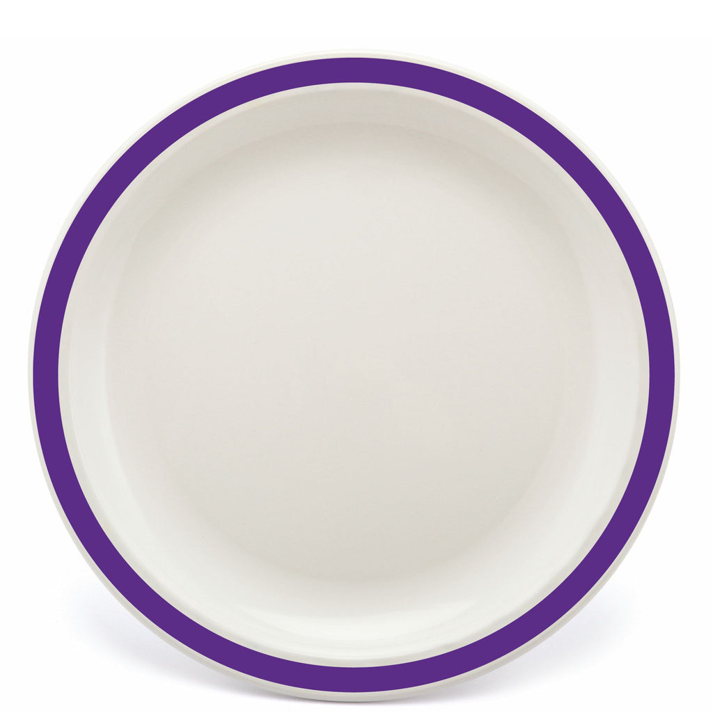 Polycarbonate Purple Duo Plate