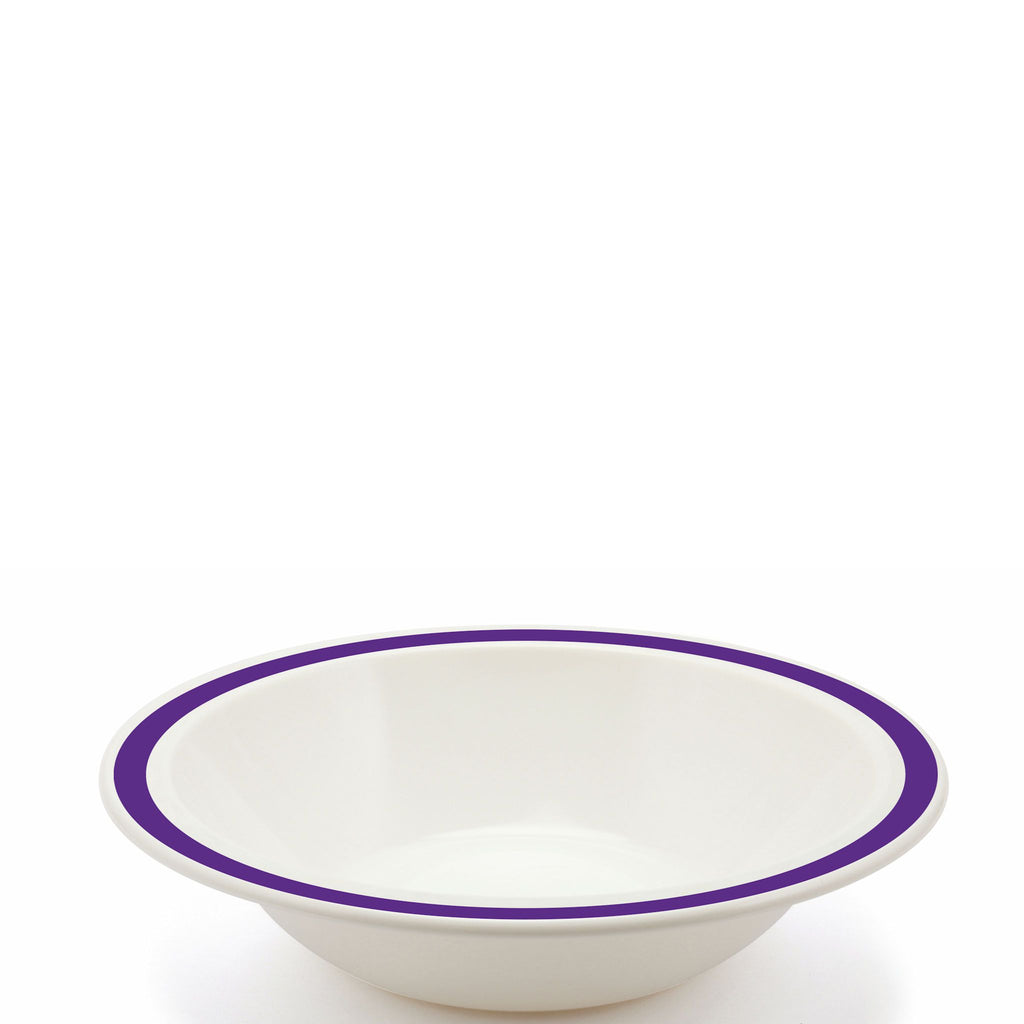Polycarbonate Purple Duo Bowl