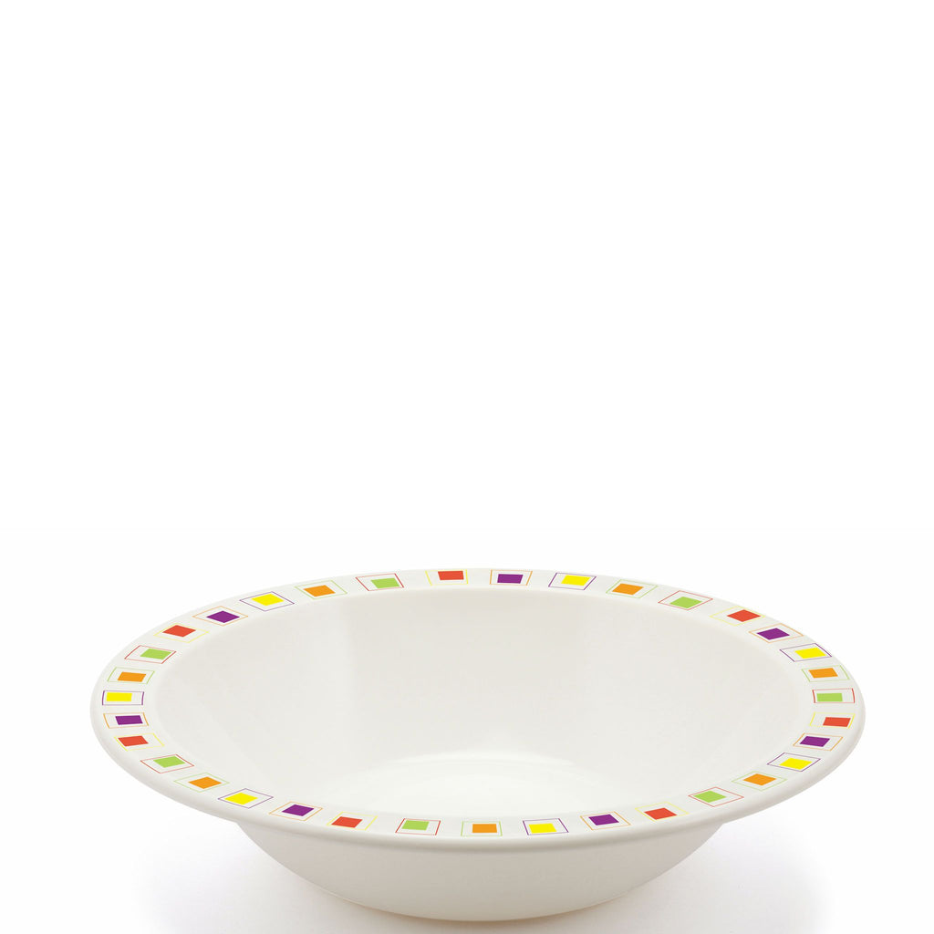 Polycarbonate Square Patterned Bowl