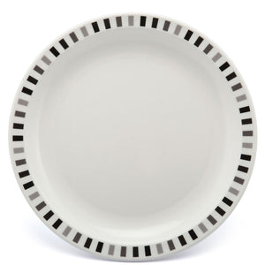 Polycarbonate Stripe Patterned Plate Grey