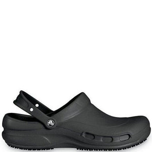 Crocs Bistro Black Chefs Clogs